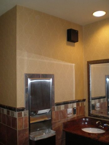 Restroom odour control solutions