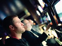 Odour control and ambient scenting for casino and hotel gaming areas